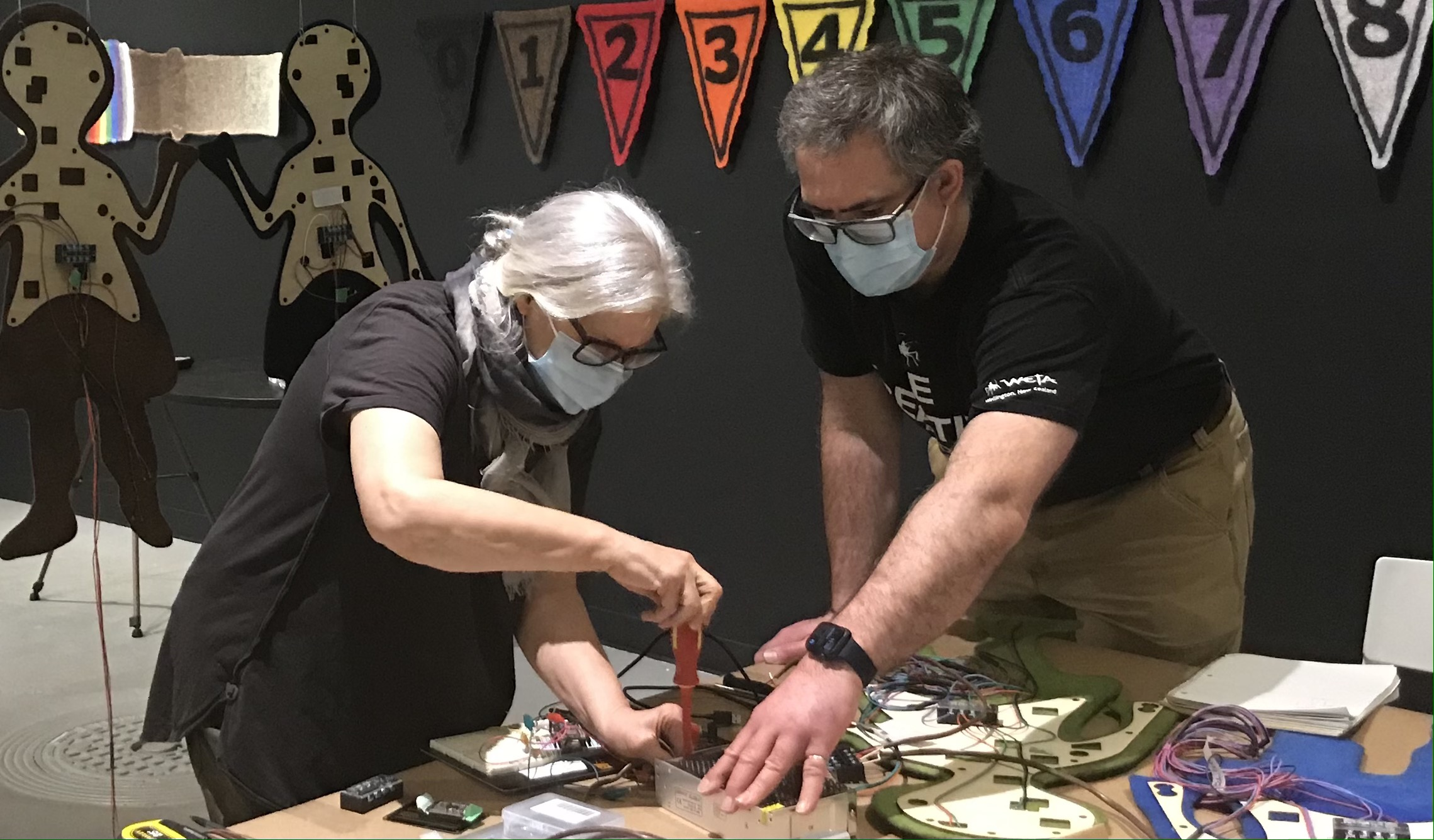 Julian Rendall and Deborah Dumka